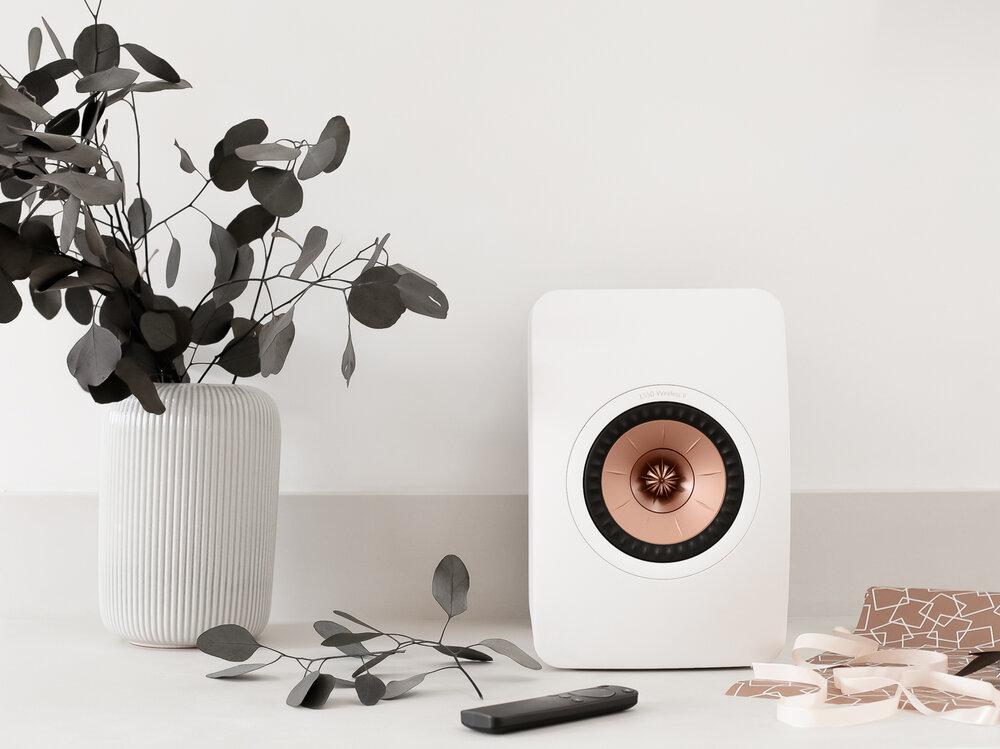 kef ls50 wireless ii speakers design hunter 8076
