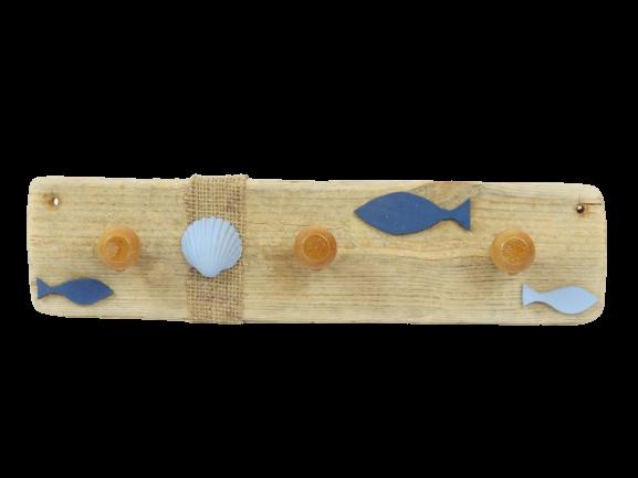 Porte-serviettes Bleu Océan