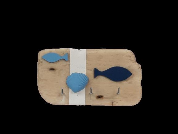 Porte-clefs Bleu Océan