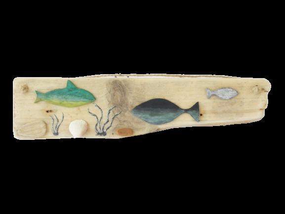 déco. en bois flotté Mer de Corail