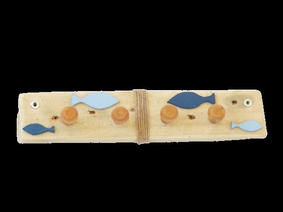 porte serviettes Bleu Océan