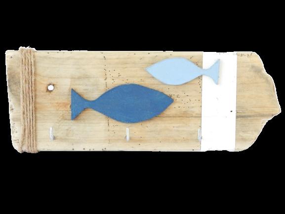porte clefs bleu océan