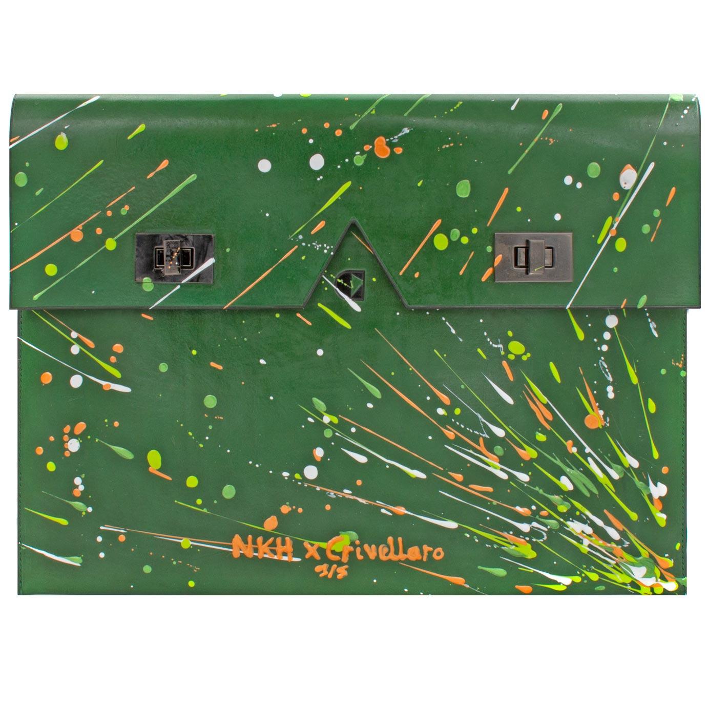 Crivellaro-Pochette-plate-NKH-Vert-1