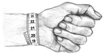 measurement wrist