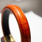 Crivellaro-Bracelet-Croco-Orange-Femme-2