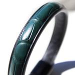 Crivellaro-Bracelet-Croco-Vert-Fonce-Homme-4