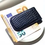 Crivellaro-Pince-Billet-croco--Noir-bleu-3