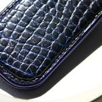 Crivellaro-Pince-Billet-croco--Noir-bleu-2