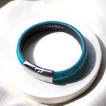 Crivellaro-Bracelet-croco-Turquoise-3