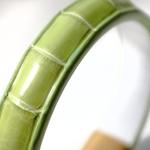Crivellaro-Bracelet-croco-VertPale-2