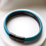 Crivellaro-Bracelets-galuchat-turquoise-3
