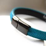 Crivellaro-Bracelets-galuchat-turquoise-4