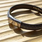 Crivellaro-Bracelet-Python-Jeans-Fermoir-ArgentBrillant