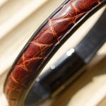 Crivellaro-Bracelet-croco-marron-2