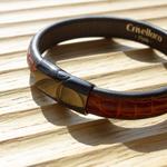 Crivellaro-Bracelet-croco-marron-4