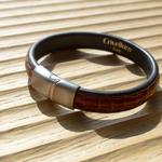 Crivellaro-Bracelet-croco-marron-5