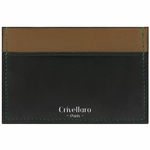 Crivellaro-portes-cartes-SLIM-Vert-Fonce-Kaki-1