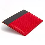 Crivellaro-portes-cartes-SLIM-Serpent-Rouge-Noir-2