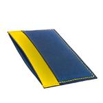 Crivellaro-Porte-carte-slim-chevre-bleu-marine-jaune-2