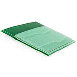 Crivellaro Porte cartes croco vert emeraude