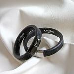 Crivellaro-Bracelet-galuchat-noir--1