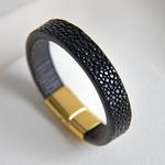 Crivellaro-Bracelet-galuchat-noir--6