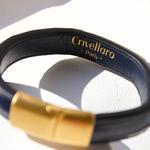 Crivellaro-Bracelet-Queue-croco-bleu-Femme-4