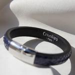 Crivellaro-Bracelet-Python-Bleu-Homme-3