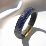 Crivellaro-Bracelet-Python-Bleu-Femme-2