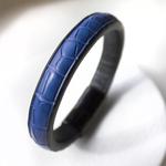 Crivellaro-Bracelet-Croco-Bleu-Homme-1