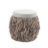 Woodream pouf
