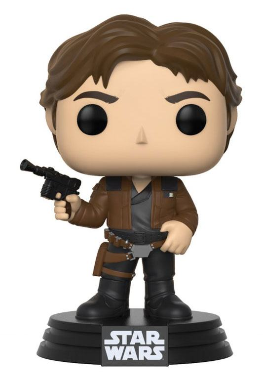 Star Wars Solo POP! Vinyl Bobble Head Han Solo 9 cm
