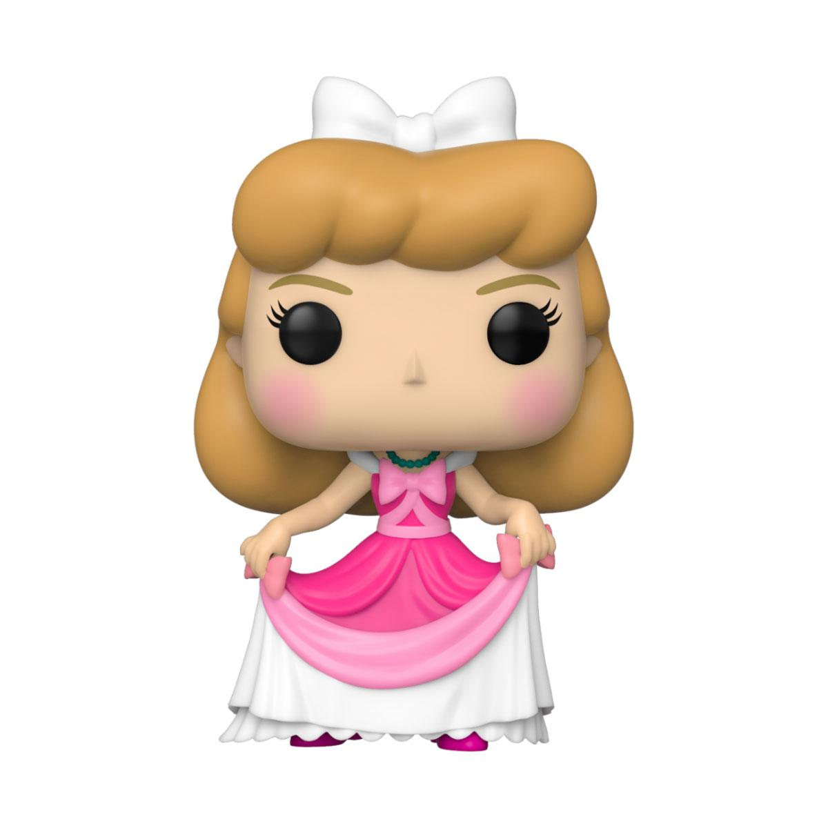 Cendrillon POP! Vinyl Figurine Cendrillon (Pink Dress) 9 cm