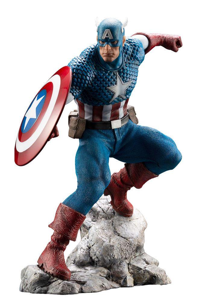Marvel Universe ARTFX Premier statuette PVC 1/10 Captain America 18 cm - Edition limitée