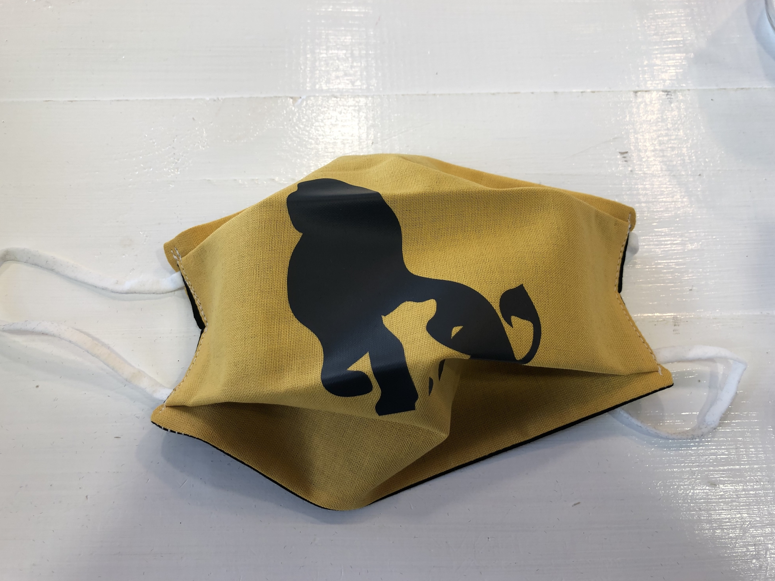 Masque Tissu adulte Covid - Roi Lion