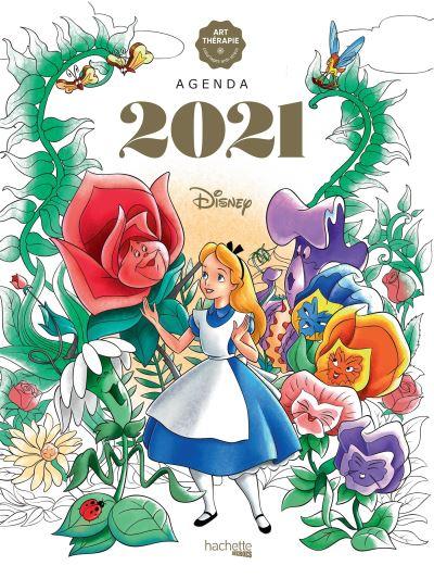 Art thérapie - Agenda à colorier 2021