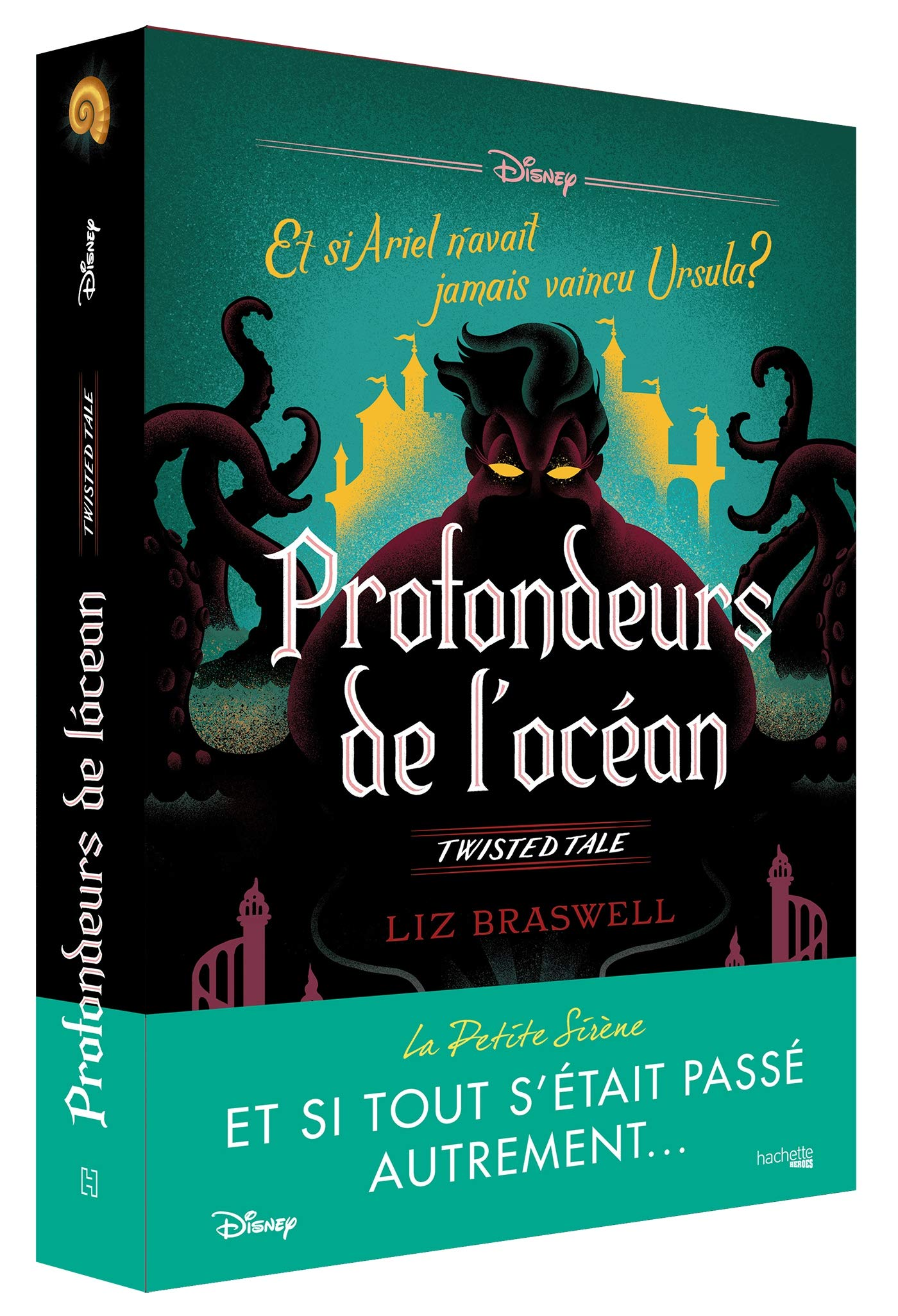 Disney Roman - Profondeur de l'océan Twisted Tales