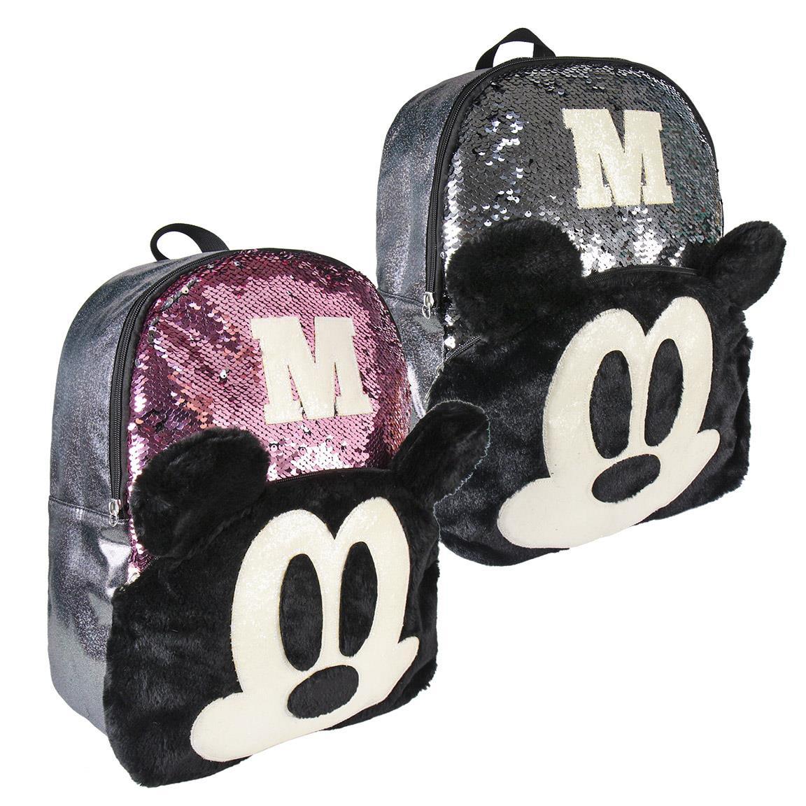 Disney - Sac à dos Primaire/Collège Mickey Sequin