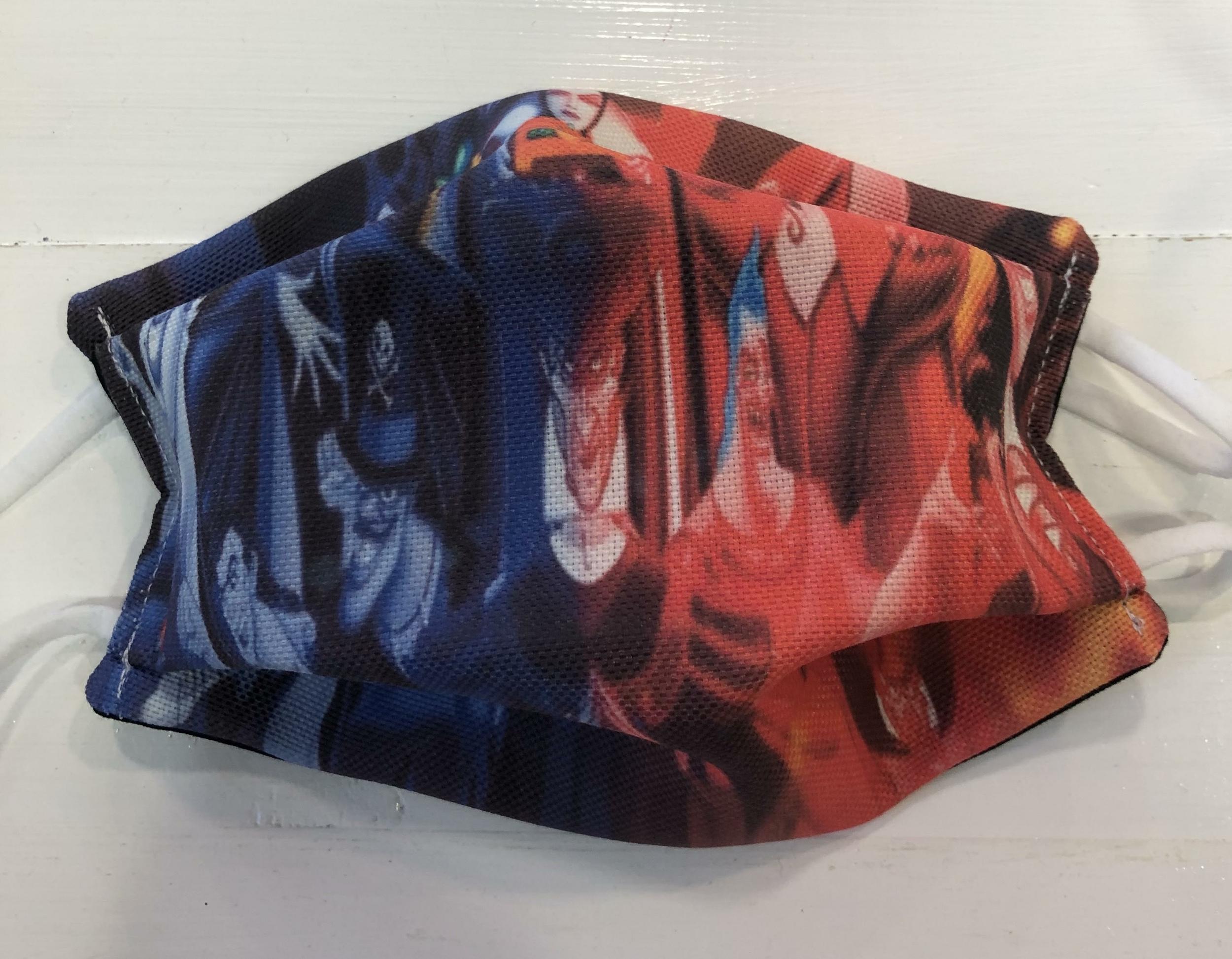 Masque Tissu adulte COVID - Villains