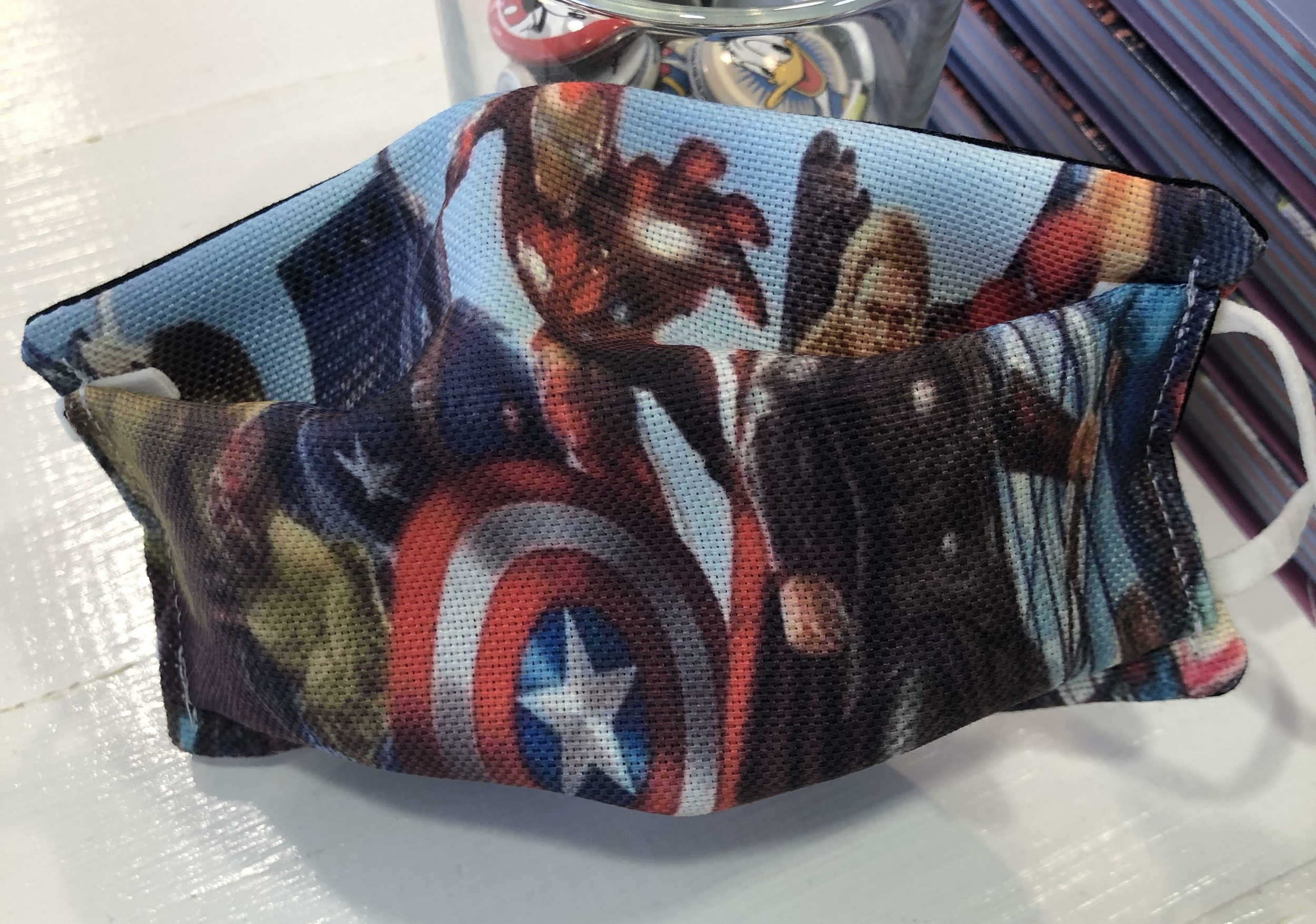 Masque tissu enfant Covid - Avengers