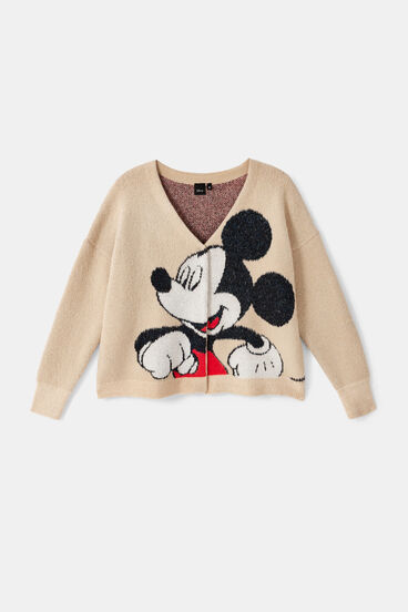 Gilet Maille Desigual Mickey