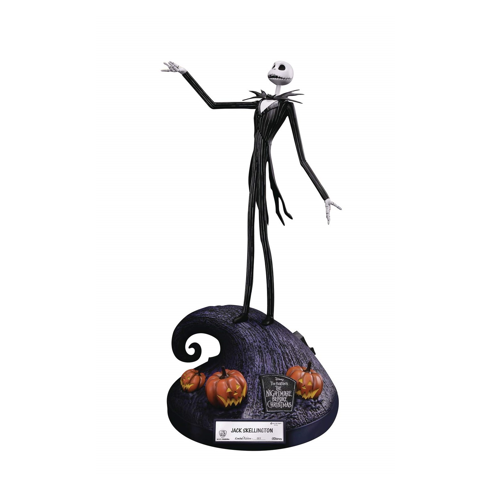 Statuette Jack Master Craft Jack Skellington 40 cm - Edition limitée