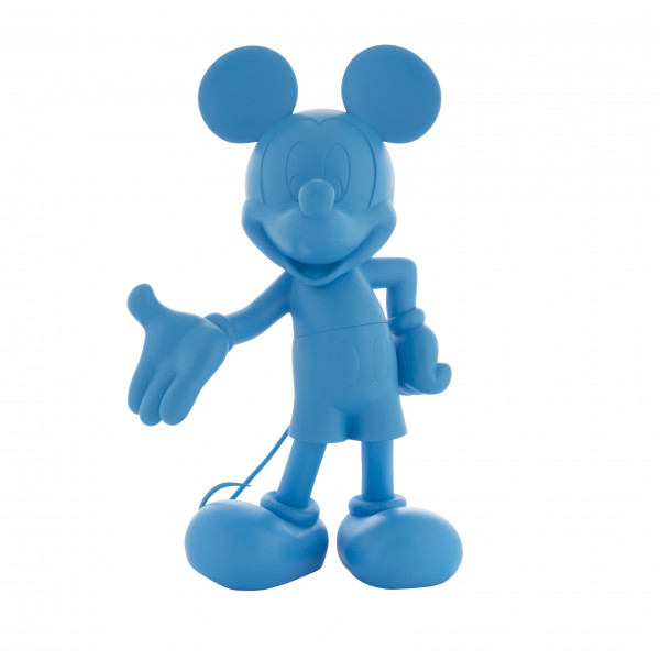 Figurine de collection - Mickey Welcome Neon Bleu