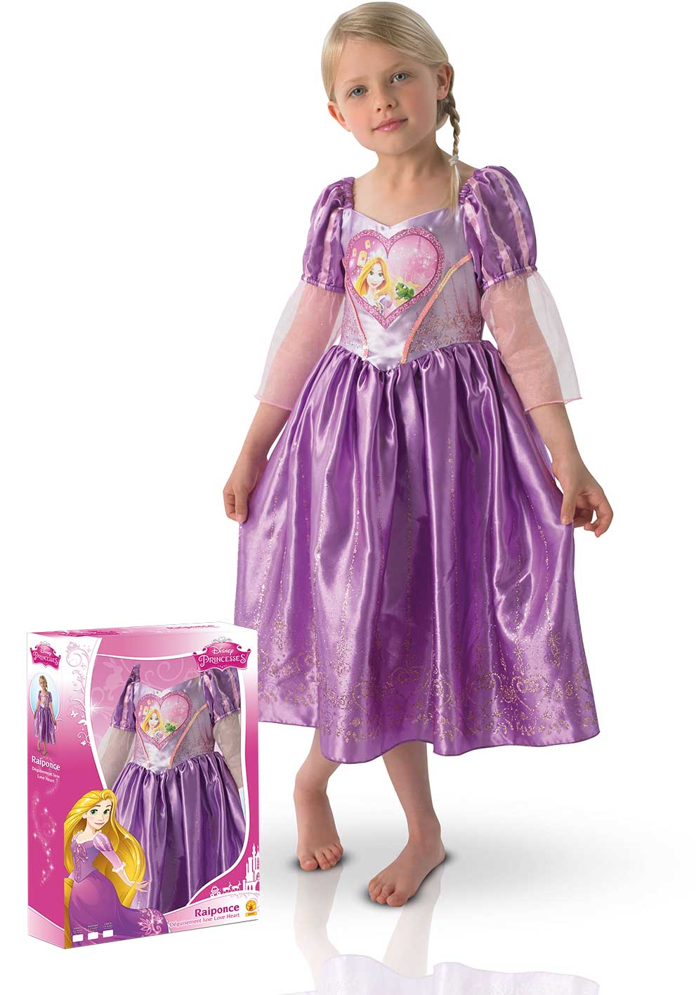 Disney - Déguisement Luxe Raiponce Princesse