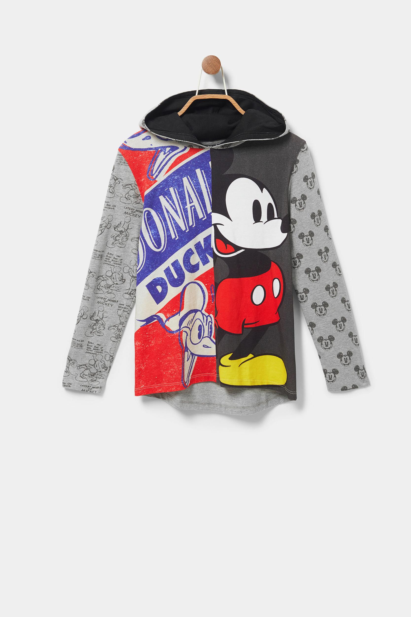 Tee-Shirt à capuche Mickey Desigual