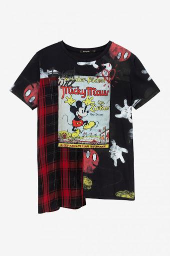 Tee Shirt Mickey Desigual