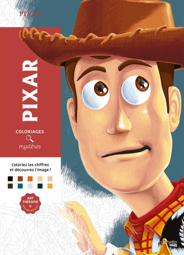 Coloriages mystères Pixar Tome 1