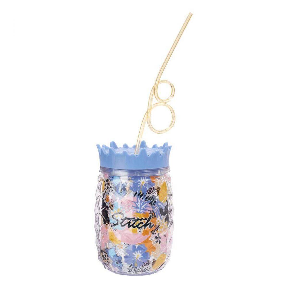 Disney - Gobelet avec paille Lilo & Stitch