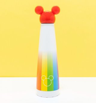 Disney - Bouteille Metal Mickey Rainbow