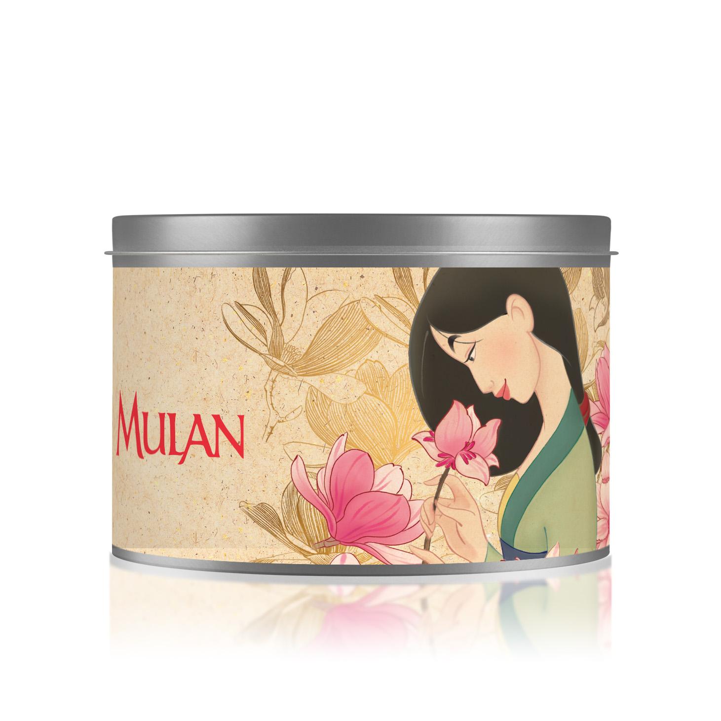 Bougie Métal Parfumée Végétale - Mulan Edition limitée